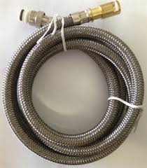 kitchen faucet hoses delta faucet rp32527 hose for pull out kitchen faucet