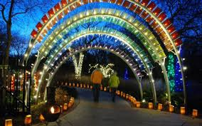christmas lights wichita ks holiday lights in wichita botanica s illumiations open through dec