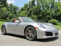 porsche used 2017 used porsche 911 4s cabriolet at the motor