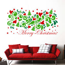 merry christmas wall sticker full color decal colorfull home door merry christmas wall sticker full color decal colorfull home door decor ma351
