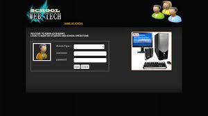 free template for website with login page online school management system in php mysql html css school