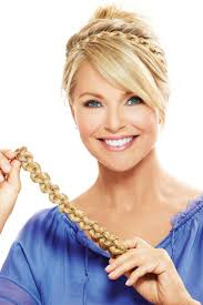 braid headband thick braid headband accessory by christie brinkley wigs