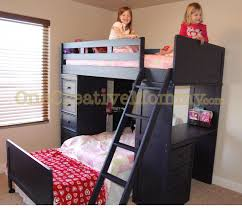Half Bunk Bed Bunk Bed Trouble To Do List Onecreativemommy