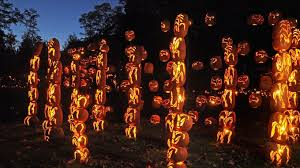 pumpkin lights the great o lantern blaze lights up the hudson valley with