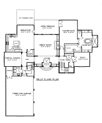country french house plan interesting provincial home plans