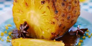 cuisiner l ananas ananas rôti au miel épicé facile et pas cher recette sur cuisine