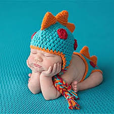 baby boy photo props a cool crocheted baby boy dinosaur newborn