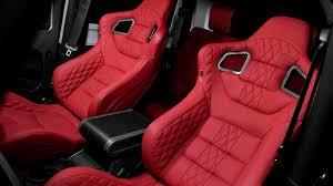 Jeep Wrangler Leather Interior Jeep Wrangler Gtb Sports Seats Pair Leather Interiors
