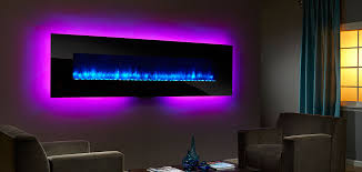 Wall Mounted Fireplaces Electric by Simplifire Wall Mount Electric Fireplace Series