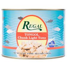 regal foods tongol chunk tuna 66 5 oz can main picture