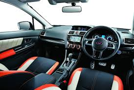 subaru xv 2016 interior subaru xv hybrid ts hits the japanese market with sti parts