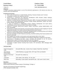 Best Finance Resume by Best Quantitative Analyst Resume Template
