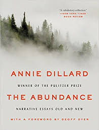 black friday on amazon us the abundance narrative essays old and new annie dillard