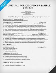 Police Chief Resume Examples Are You A Police Officer Looking For A New Job One Of The Best