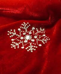 48 inch beaded snowflake tree skirt tree classics