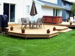deck ideas ground level deck ideas simple ground level deck i need this soon