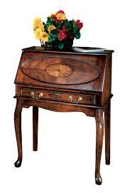 Secretary Desk Chair by Neli Home Office Living Room Brown Space Saver Secretary Desk