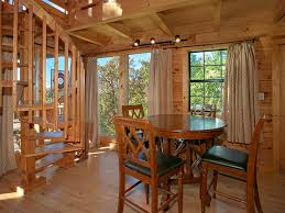 one story log cabins morning view is a two story one bedroom log cabin with a
