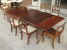 Duncan Phyfe Dining Room Table And Chairs Home Design Captivating Duncan Phyfe Dining Table Exciting