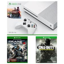 xbox one s black friday 320 xbox one deal includes battlefield 1 call of duty infinite