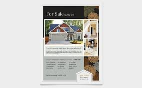 house for sale flyer template craftsman home flyer design