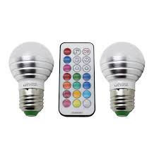 decoration 3w color changing bulbs