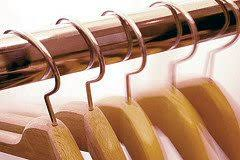 strong wooden clothes hangers only hangers