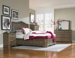 Storage Bed Sets King Whittier Wood Stonewood 4 King Storage Bedroom Set