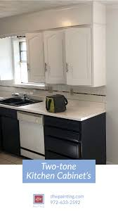 painting kitchen cabinets professionally cost two tone kitchen cabinet inspiration painted kitchen