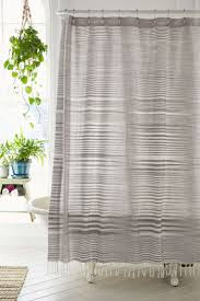 15 shower curtains perfect for a grown up bathroom striped linen shower curtain