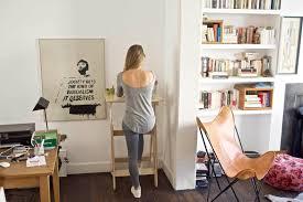 Turn Desk Into Standing Desk by Wooden Standing Desk Kickstarter Best Home Furniture Decoration
