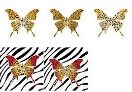 butterfly leopard zebra vector dragonartz designs we moved to