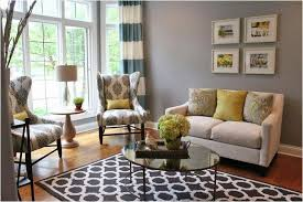Simple Armchair Cheap Rugs And Curtains Combination For Modern Living Room With
