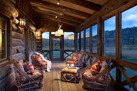cabin porch spectacular rustic porch designs every rustic house needs to have