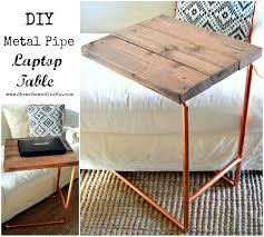 Diy Metal Desk by Bedside Table Laptop Desk Zoom Chair Side Table For Laptop