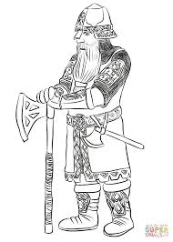 dwarf gimli coloring page free printable coloring pages