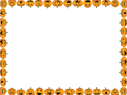 halloween border clipart landscape clipartxtras