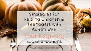 strategies for helping children and teenagers with autism with