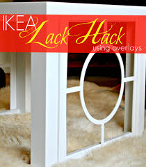 Ikea Lack Hacks Another Ikea Hack Embellishing A Lack Table
