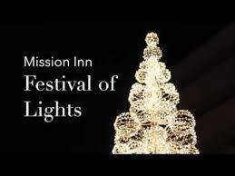 christmas lights riverside ca mission inn riverside ca festival of lights 2017 youtube