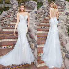 wedding dresses for sale 2017 new chen mermaid wedding dresses see through back