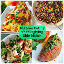 thanksgiving staggeringing side dishes clean that are not