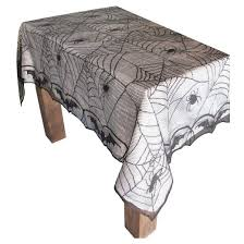 halloween lace spiderweb tablecloth hyde and eek boutique target