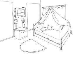 coloriage de chambre de fille dessin de chambre meilleur idées de conception de maison