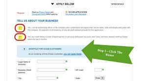 Business Card Credit Chase Business Credit Card Application Million Mile Secrets
