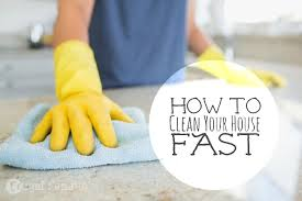 how to clean the house fast need a clean house in a hurry frugal fanatic