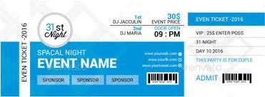 ticket template 46 print ready ticket templates psd for various types of events