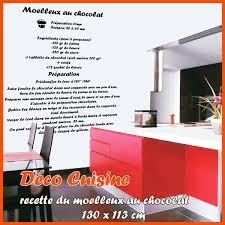 stickers recette cuisine stickers cuisine recette du moelleux au chocolat deco cuisine
