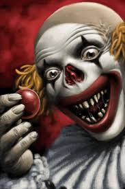 221 best killer clowns images on pinterest evil clowns scary
