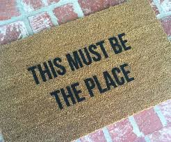 Geek Doormat Must Be The Place Doormat